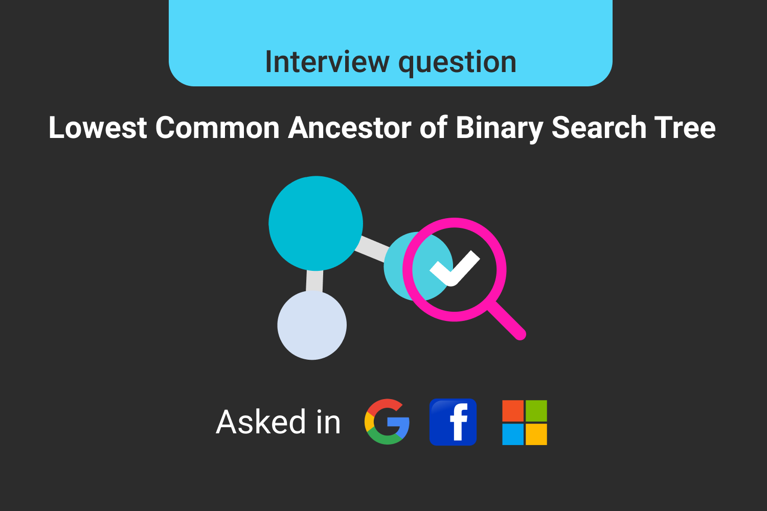 Lowest Common Ancestor of a Binary Search Tree