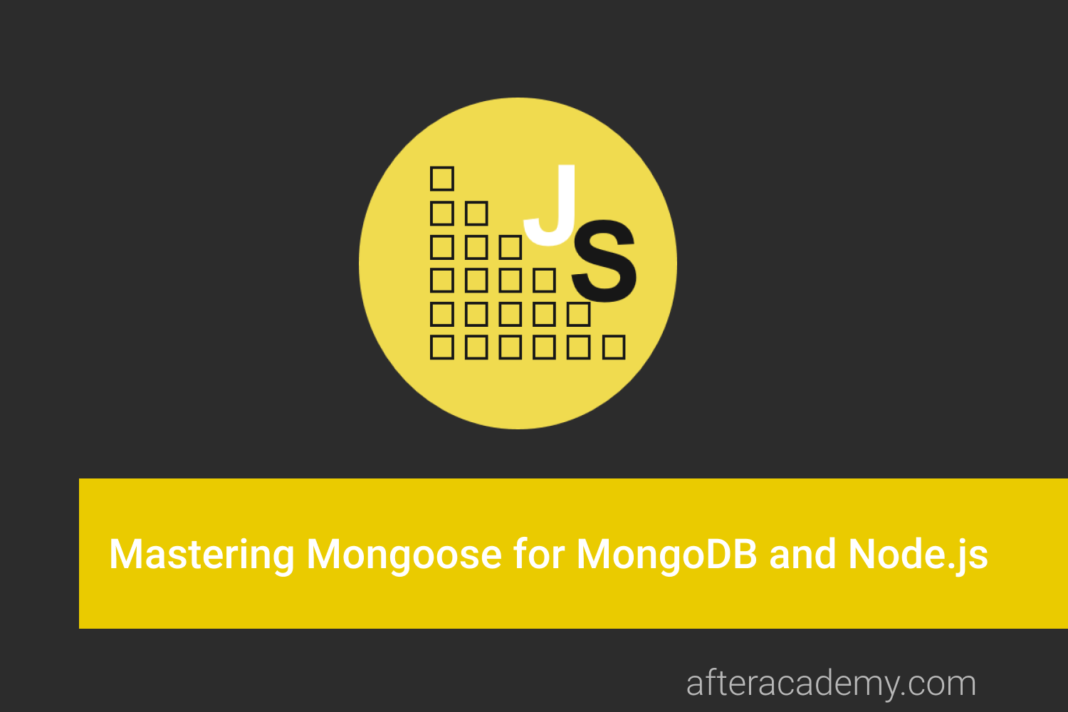 Mastering Mongoose for MongoDB and Nodejs