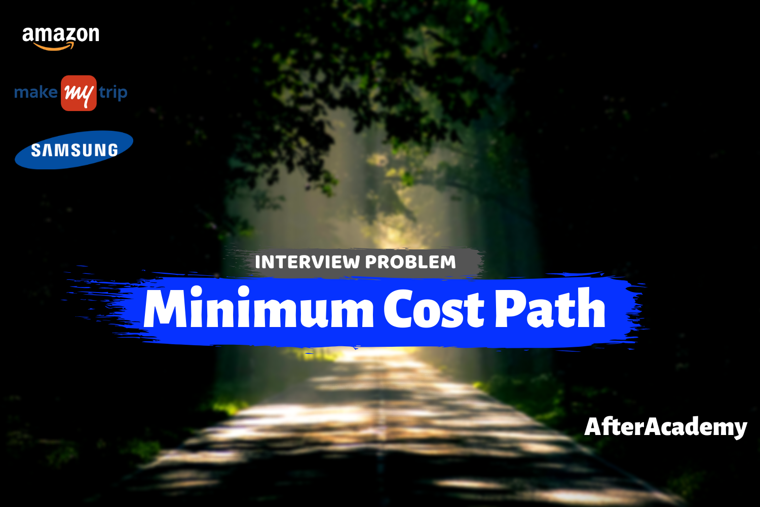 Minimum Cost Path - Interview Problem