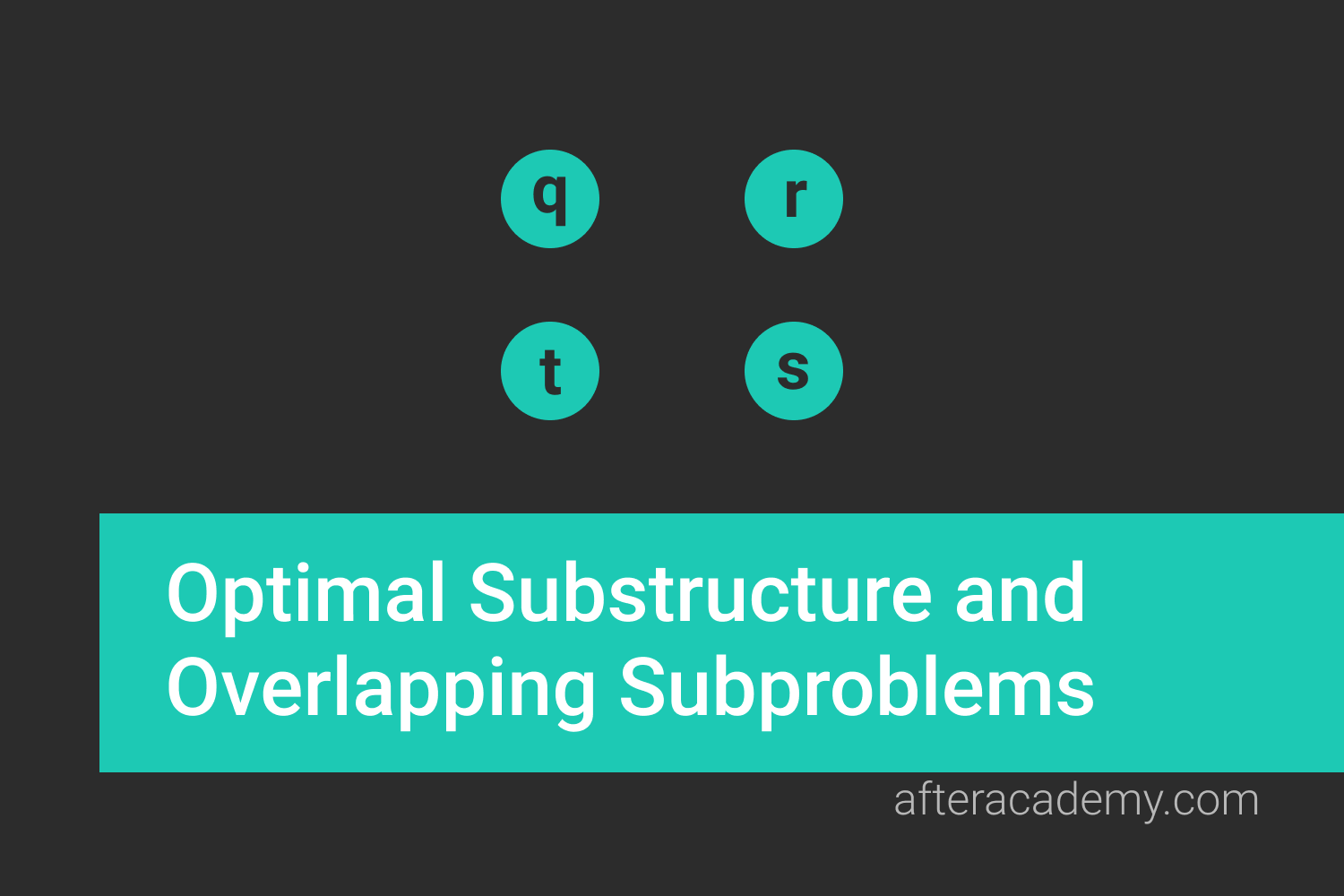 Optimal Substructure and Overlapping Subproblems