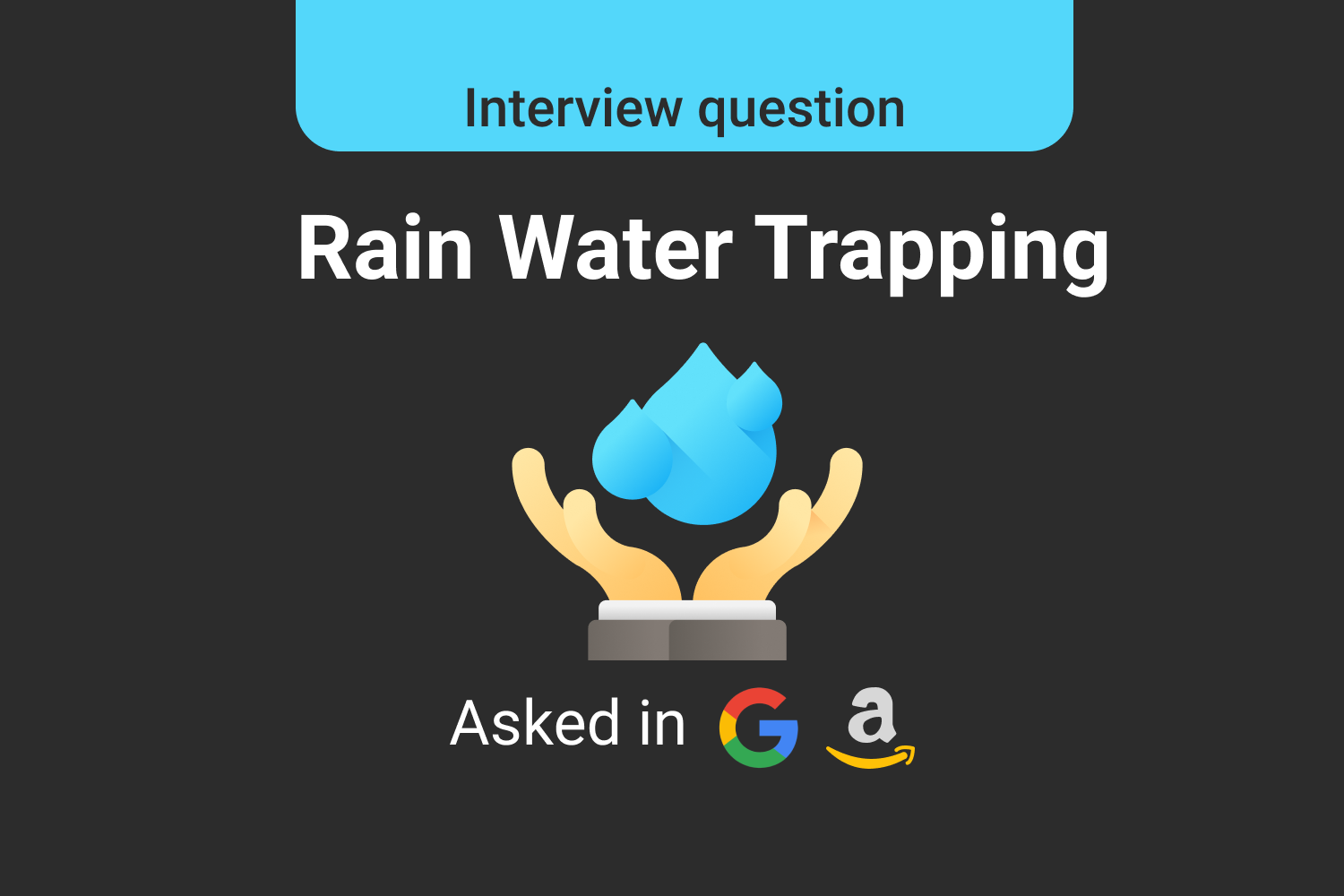 Rain Water Trapping