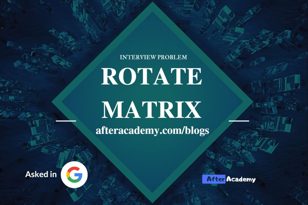 Rotate Matrix