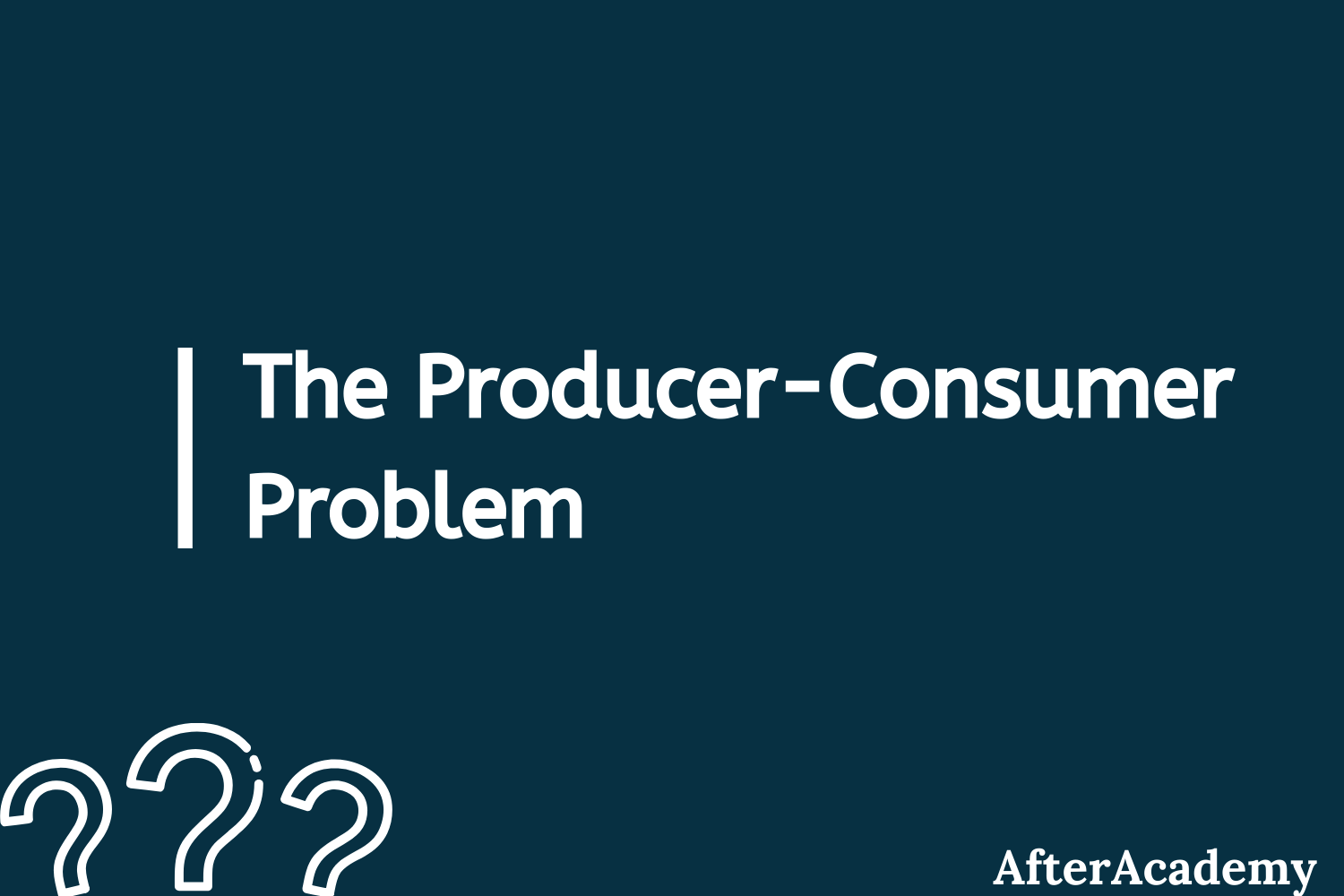 The Producer-Consumer problem in Operating System