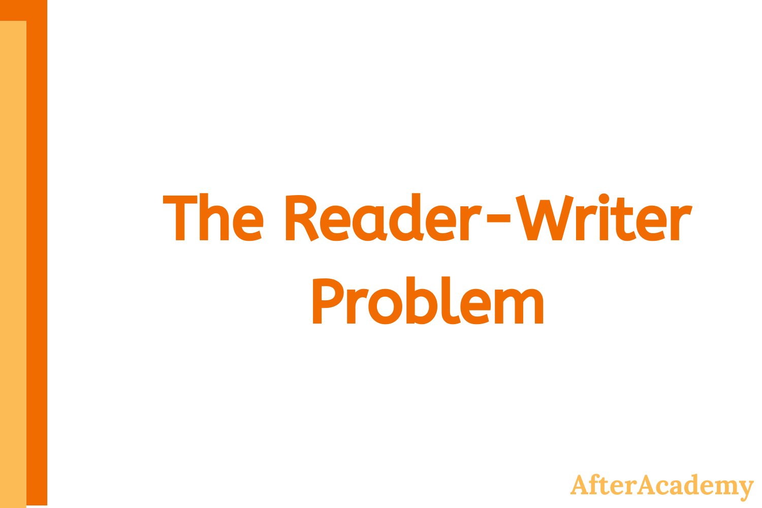 The Reader-Writer Problem in Operating System
