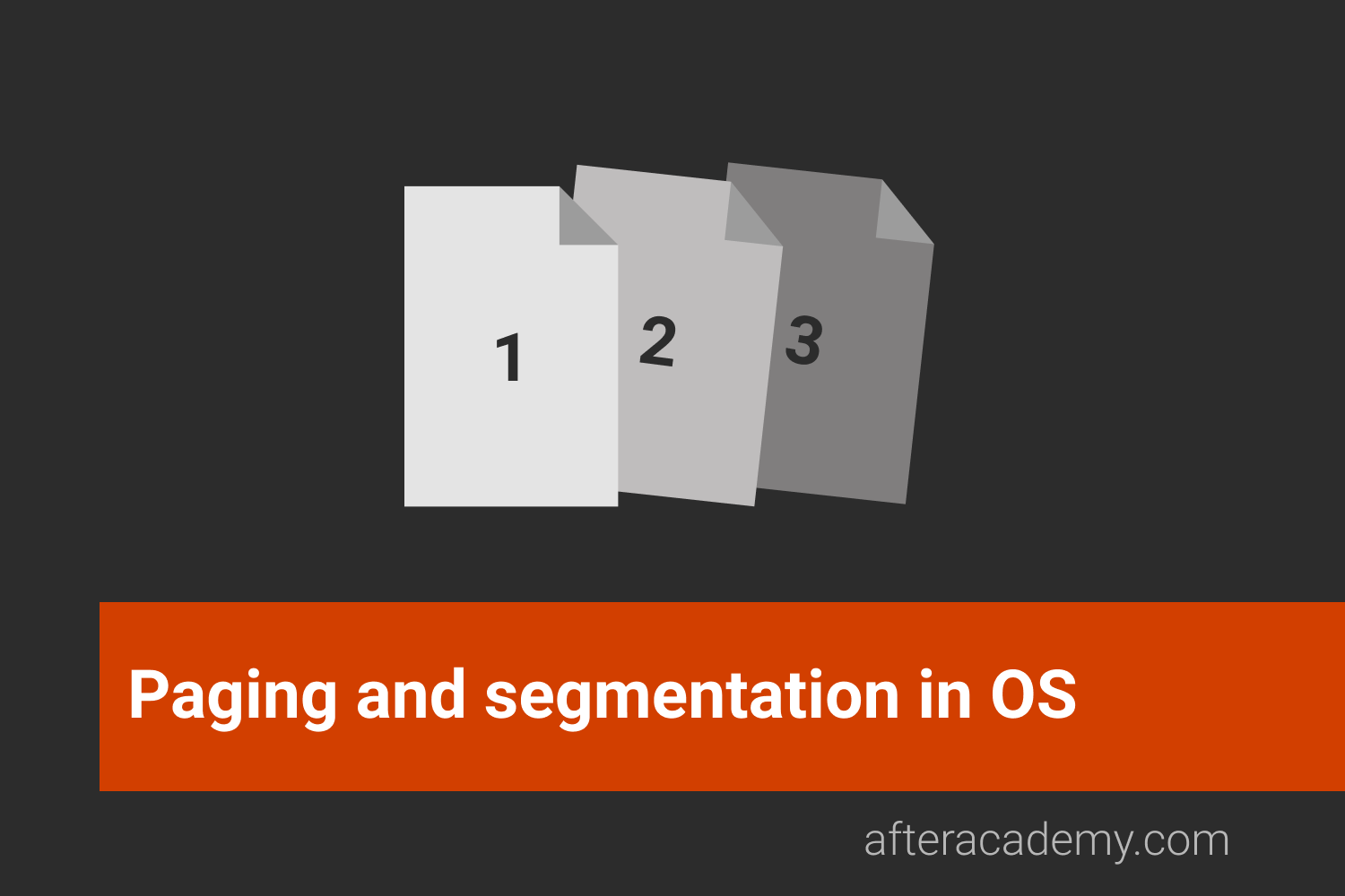 What are Paging and Segmentation?