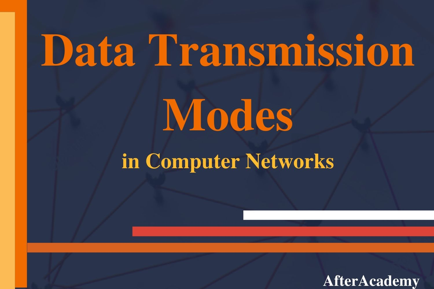What are the Data Transmission Modes in a network?