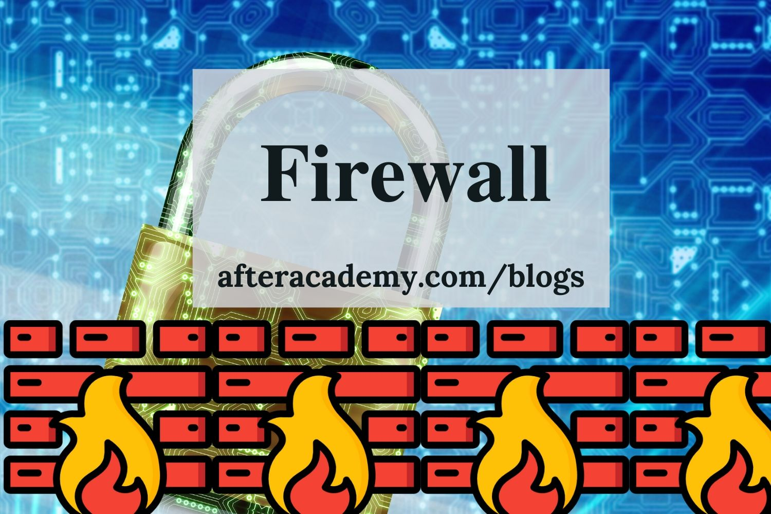 What do you mean by a Firewall?