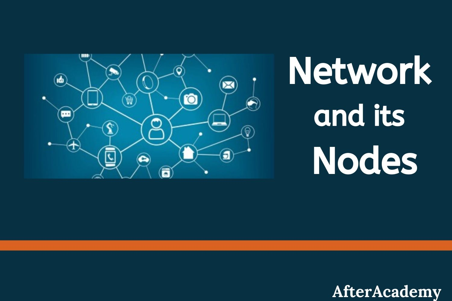 What is a network and what are the nodes present in a network?