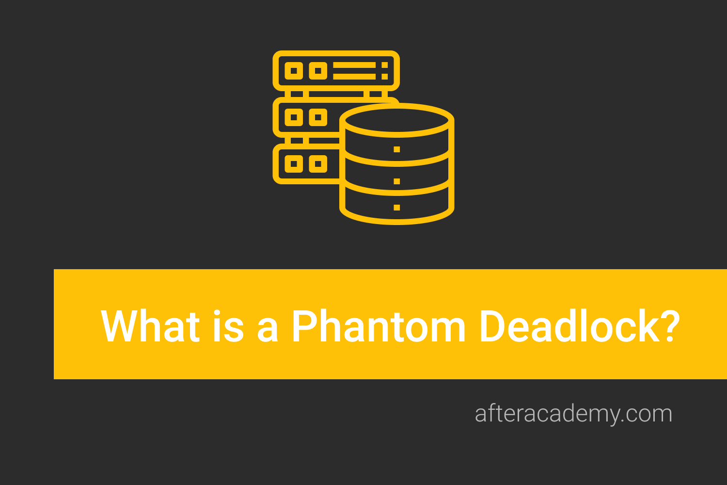 What is a Phantom deadlock?