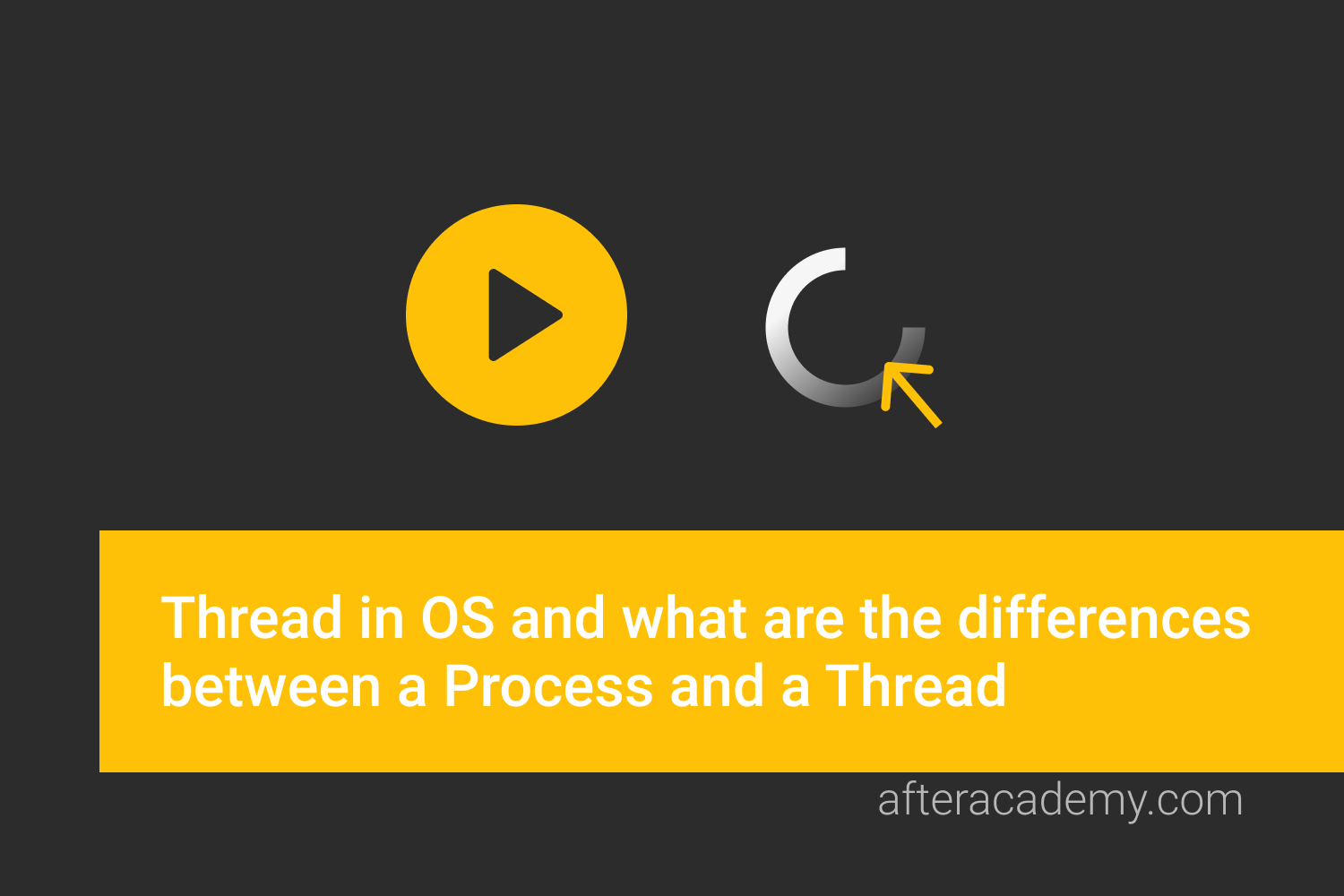 What is a Thread in OS and what are the differences between a Process and a Thread?