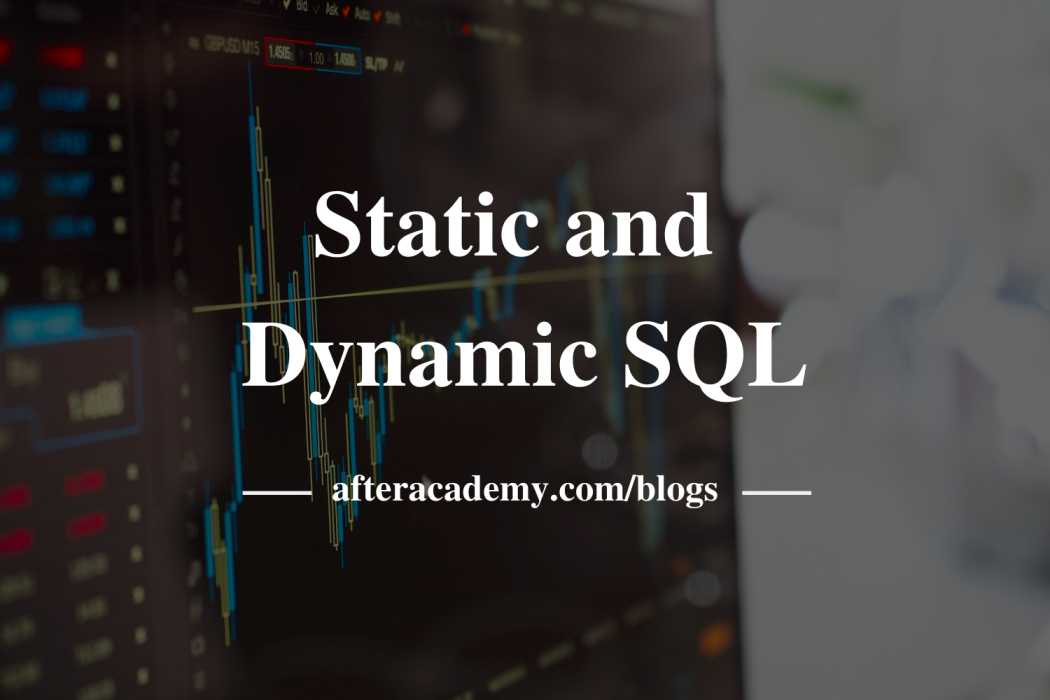 What is an embedded and dynamic SQL?