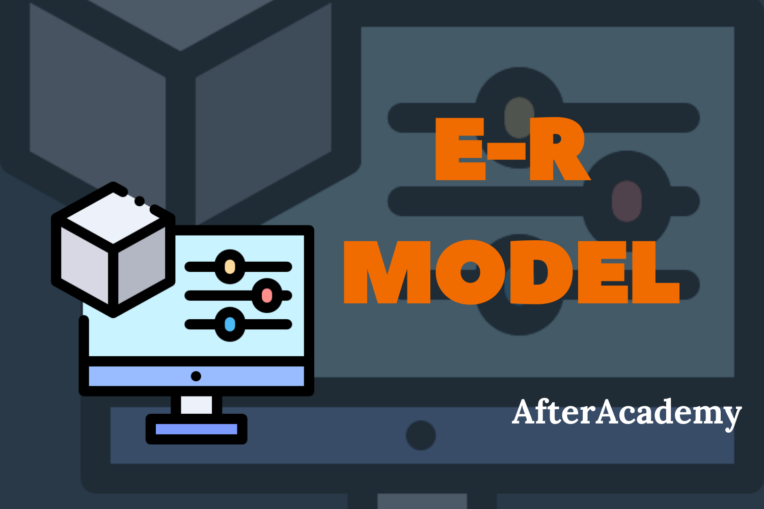 What is an E-R model?