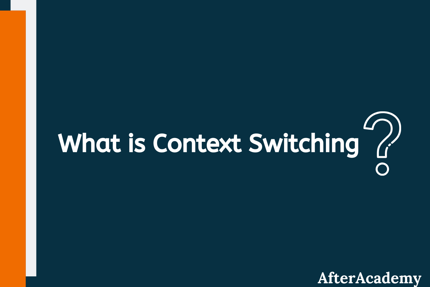 What is Context Switching in Operating System?