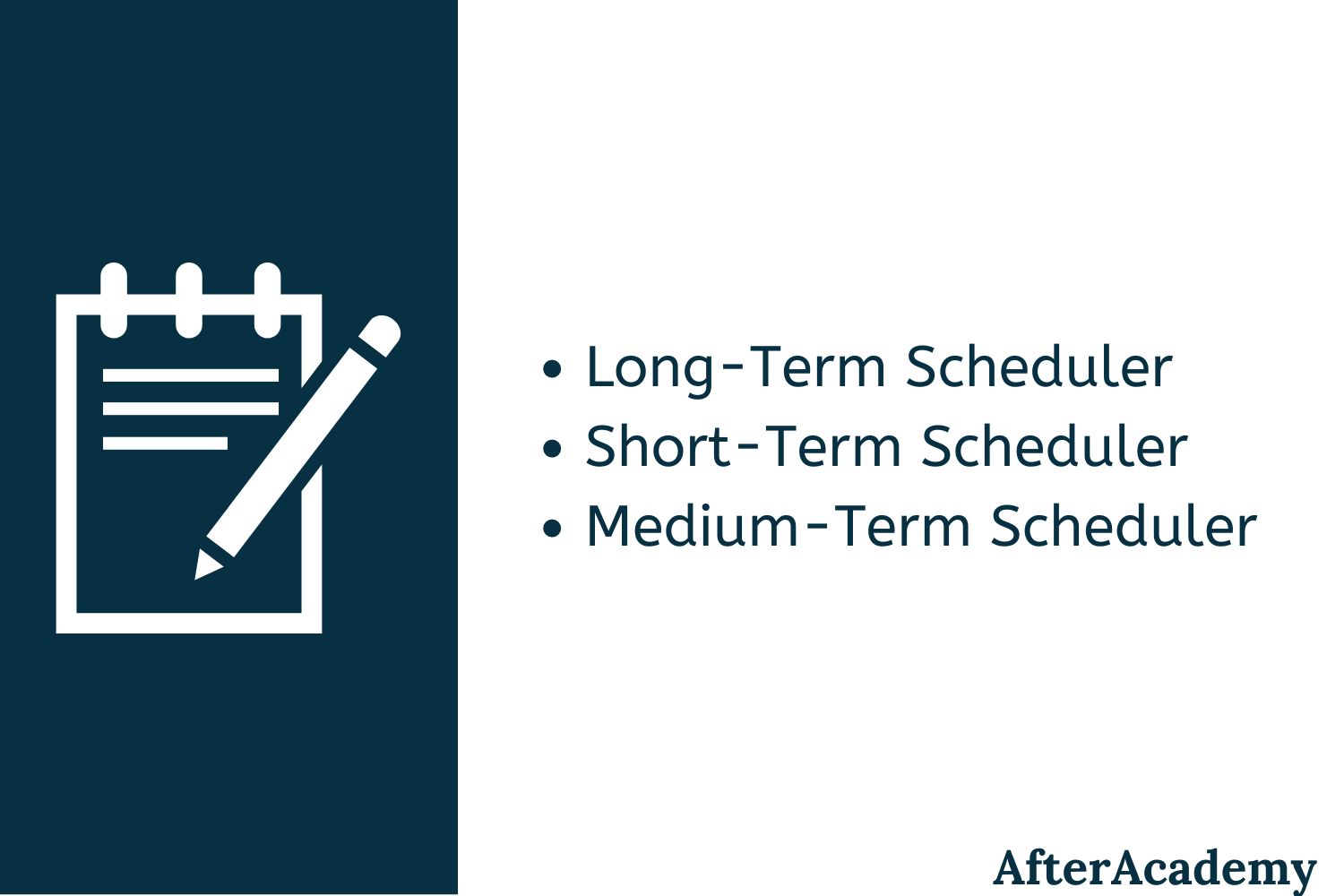 What is Long-Term, Short-Term, and Medium-Term Scheduler?