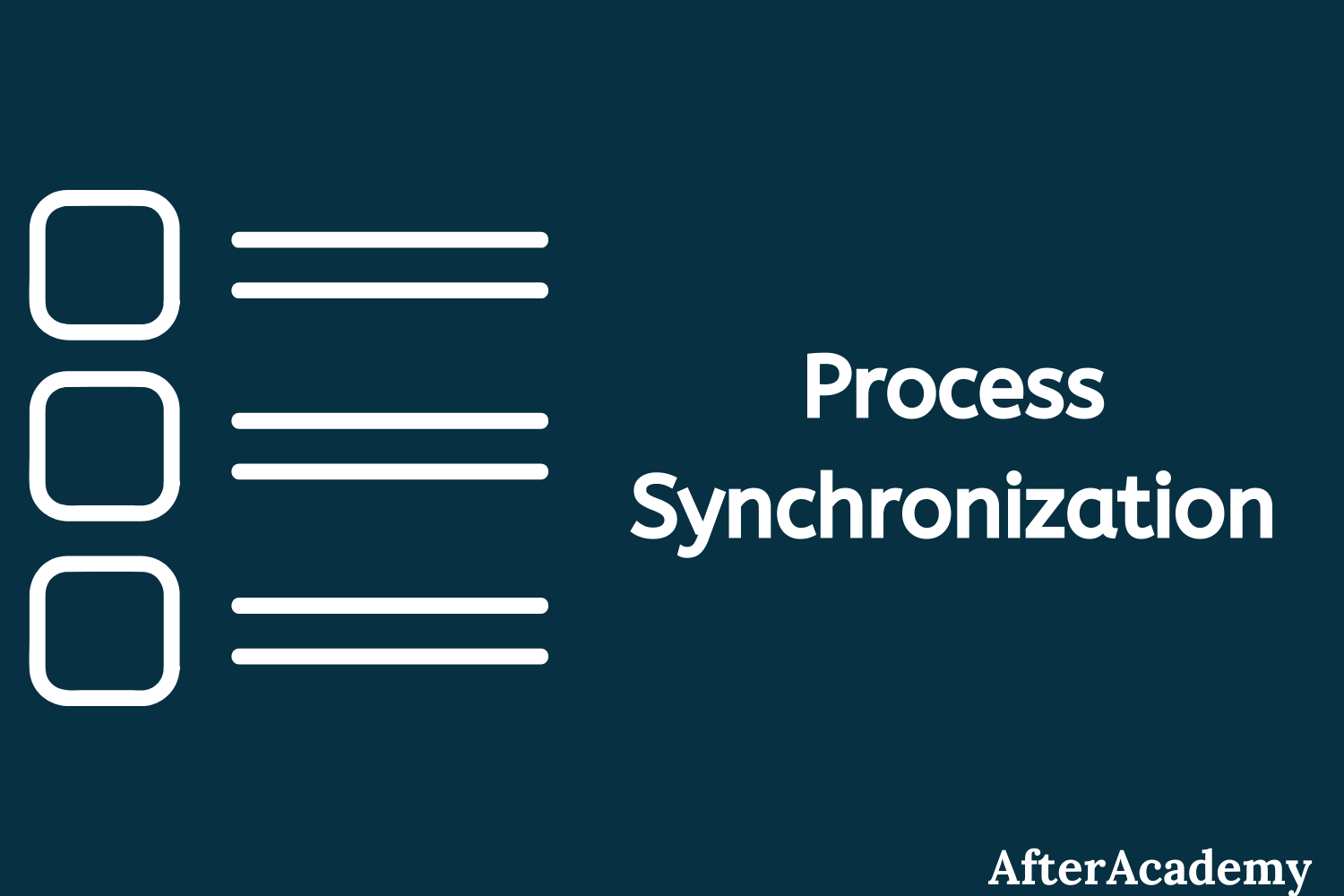 What is Process Synchronization in Operating System?