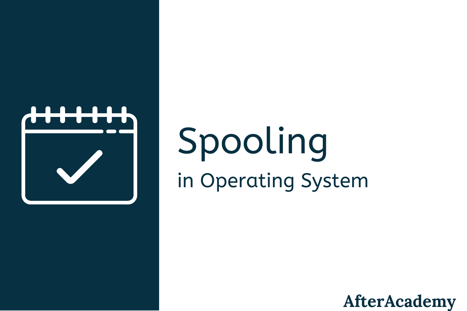 What is Spooling in Operating System?
