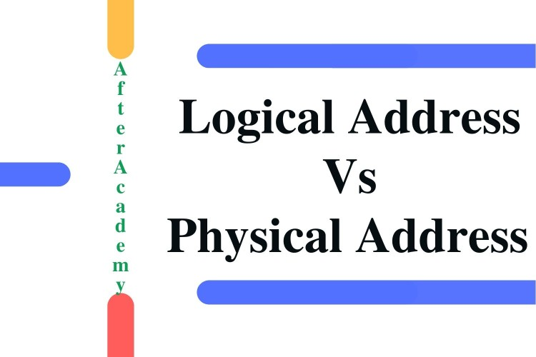 What is the difference between logical and physical address wrt Operating System?