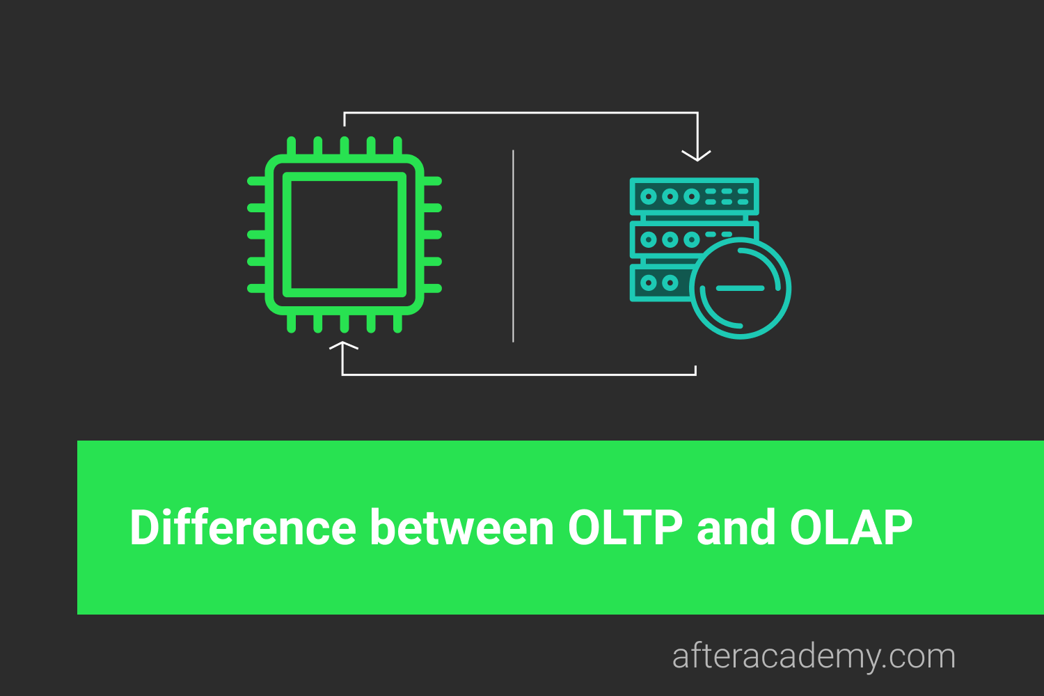 What is the difference between OLTP and OLAP?