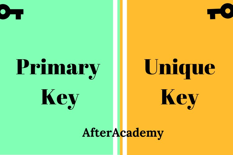 What is the difference between Primary key and Unique key?