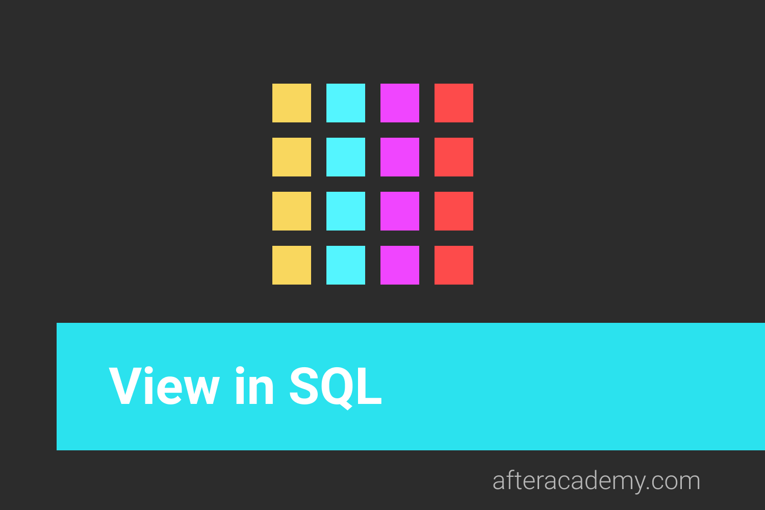 What is View in SQL?