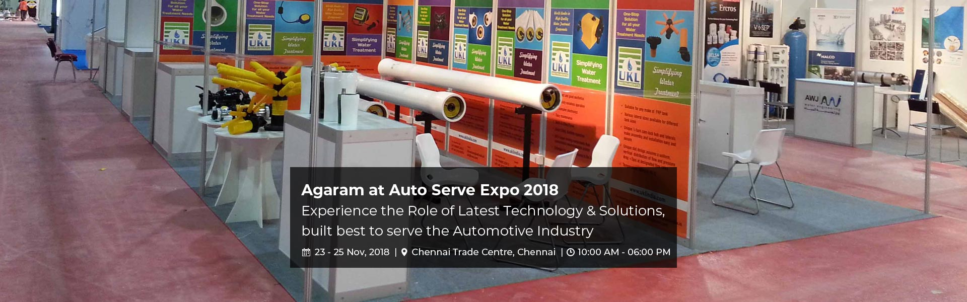 Agaram at Auto Serve Expo 2018