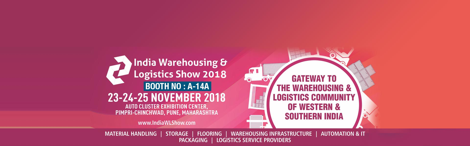 Agaram at India Warehousing and Logistics Show 2018