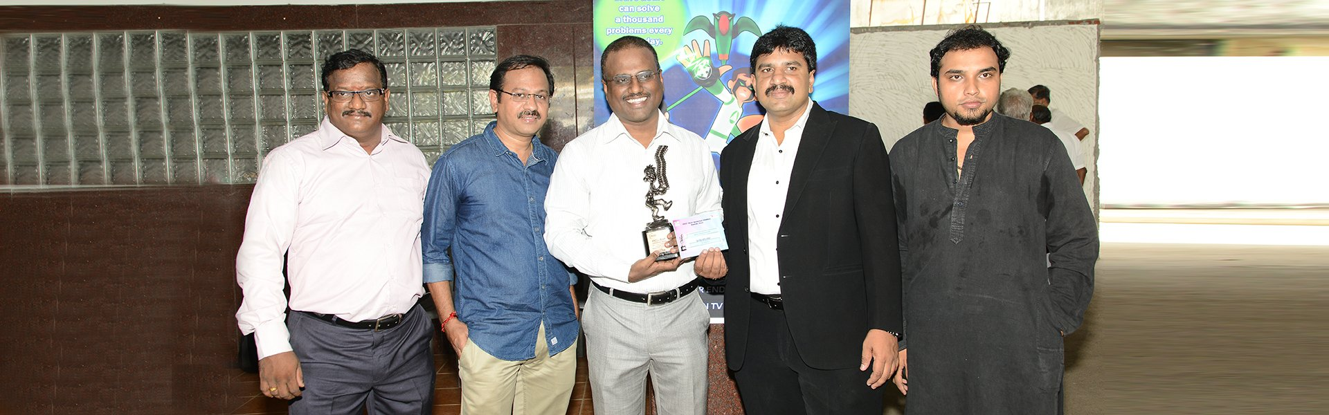 Agaram InfoTech won the FICCI BAF AWARDS - Agaram InfoTech