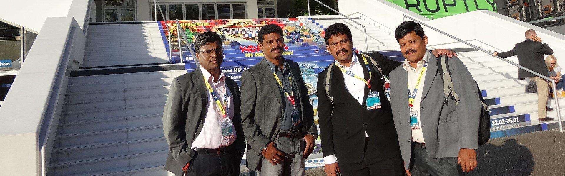 Agaram InfoTech participated in MIPCOM 2013 - Agaram InfoTech