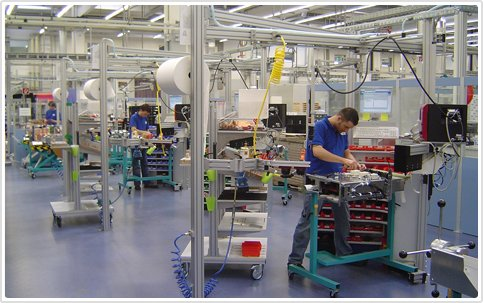 Manufacturing plant with Visitor Management - Agaram InfoTech