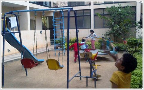 Visitor Management at Kids Playing Area - Agaram InfoTech