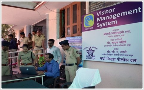 Visitor Management at Police Station - Agaram InfoTech