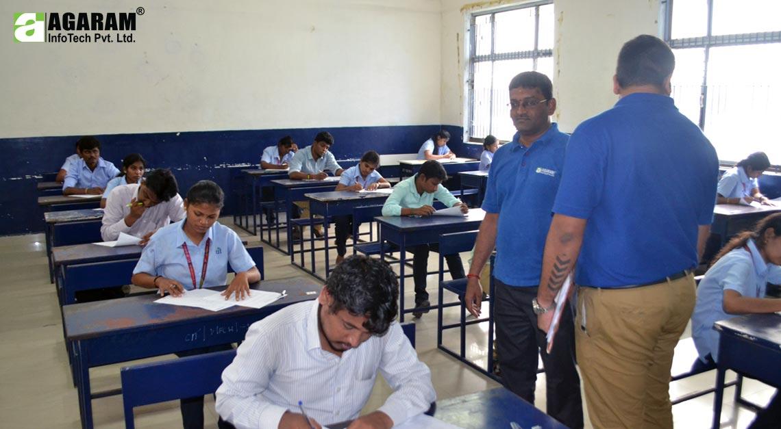Agaram conducts campus Recruitment program in CIT - Agaram InfoTech