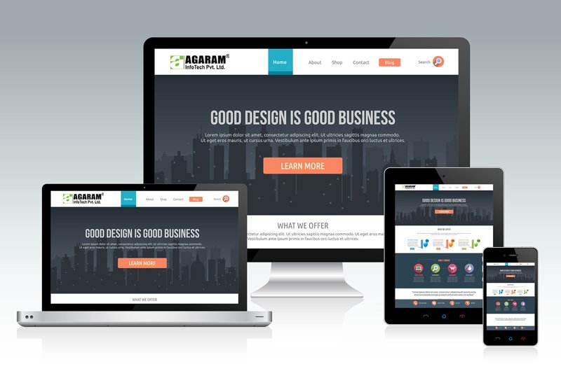 Web Design & Development Company | Agaram InfoTech
