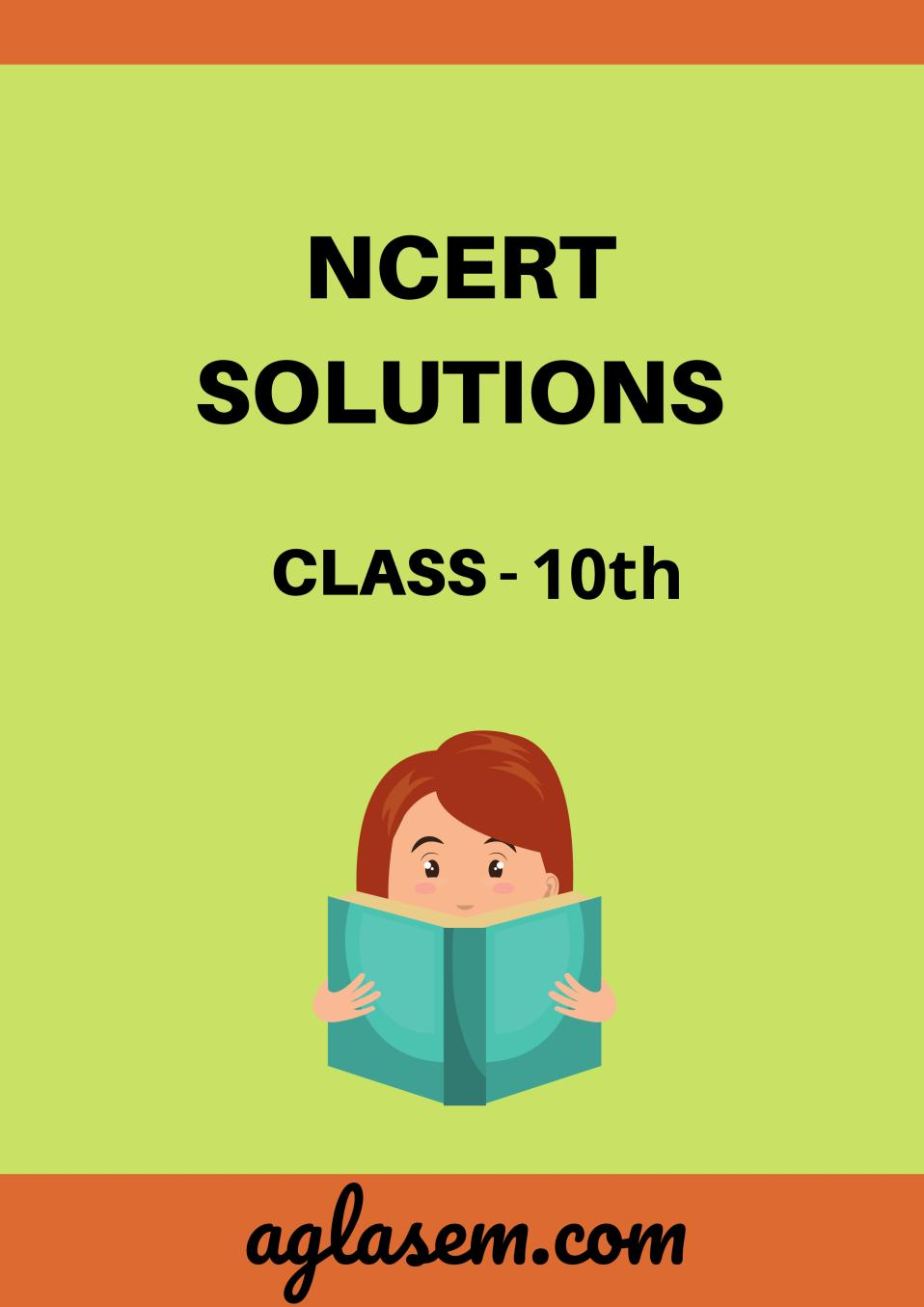 NCERT Solutions for Class 10 Social Science Geography Chapter 4 Agriculture