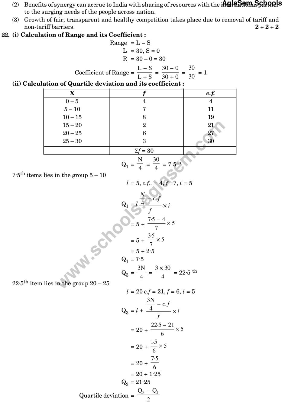 CBSE Sample Paper for Class 11 Economics (Solved) - Set B