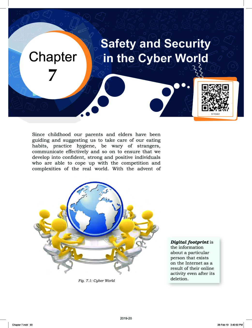 NCERT Book Class 9 ICT Chapter 7 Safety and Security in the Cyber World
