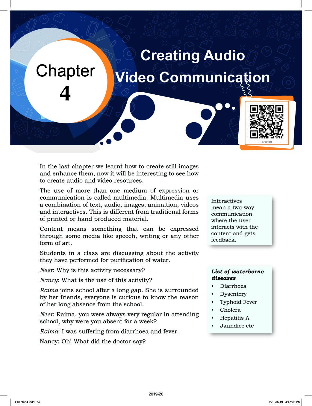 NCERT Book Class 9 ICT Chapter 4 Creating Audio-Video Communication