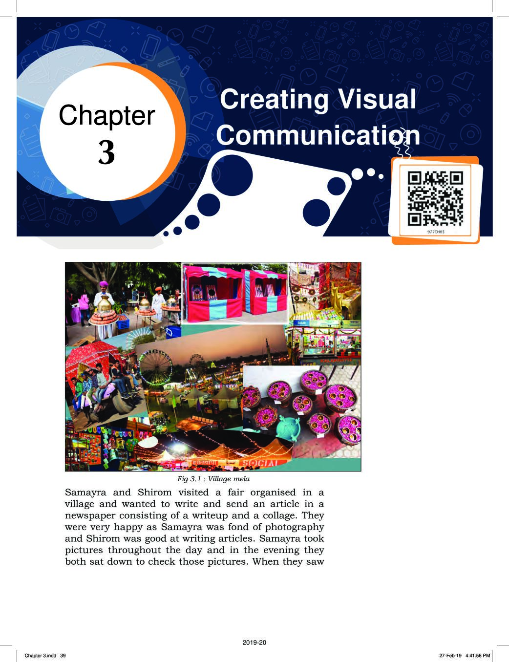 NCERT Book Class 9 ICT Chapter 3 Creating Visual Communication