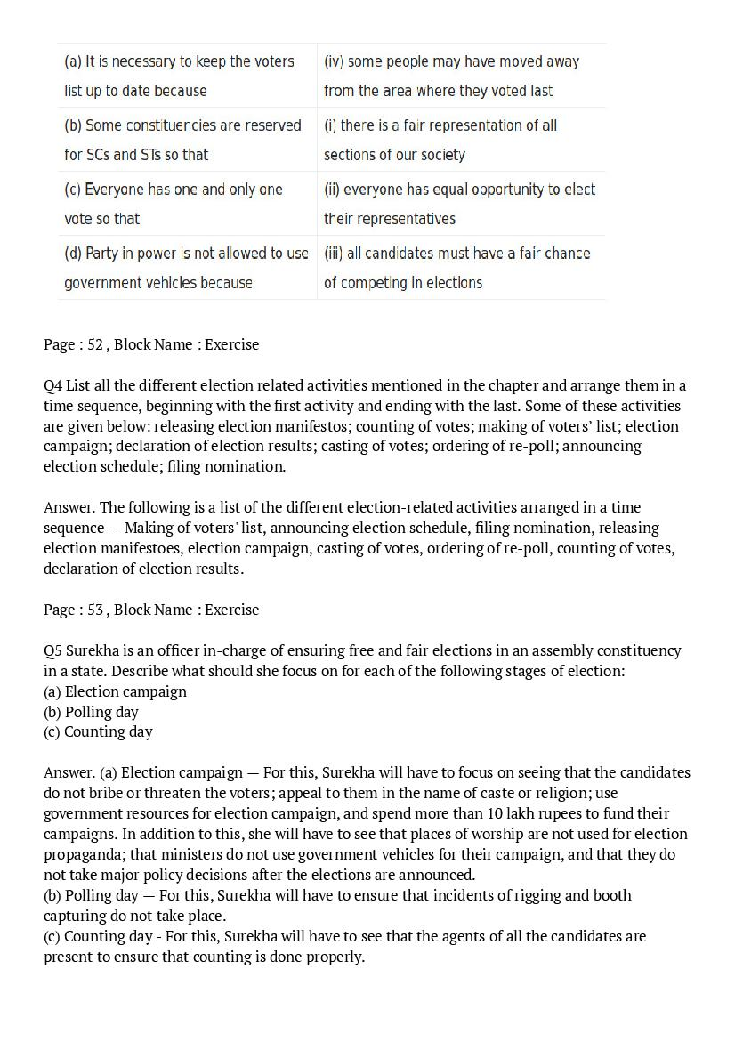 NCERT Solutions for Class 9 Social Science Civics Chapter 3