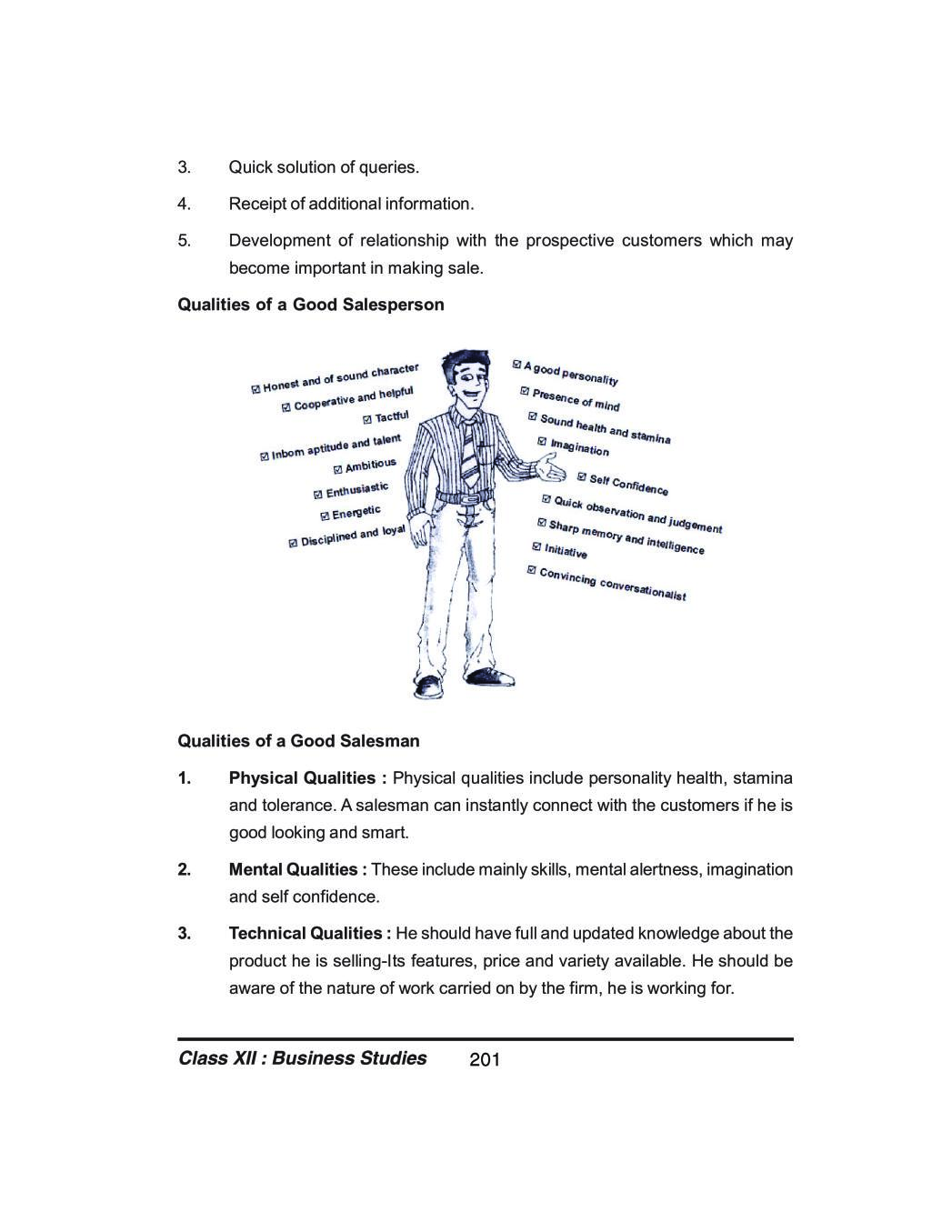 Class 12 Business Studies Notes for Marketing Management
