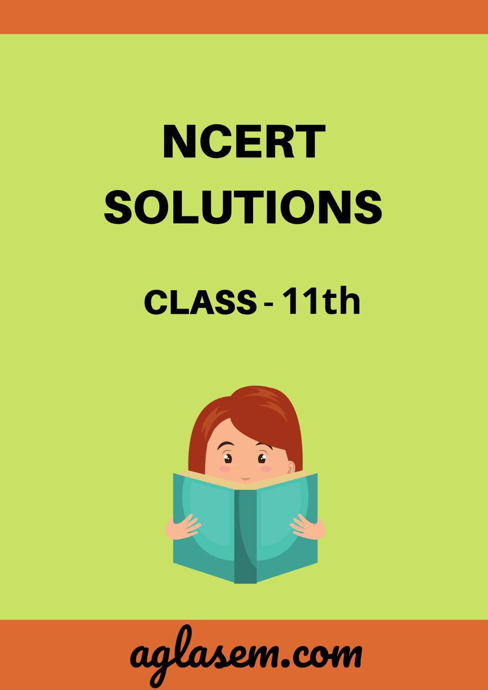 NCERT Solutions for Class 11 Biology Chapter 8 The Unit of