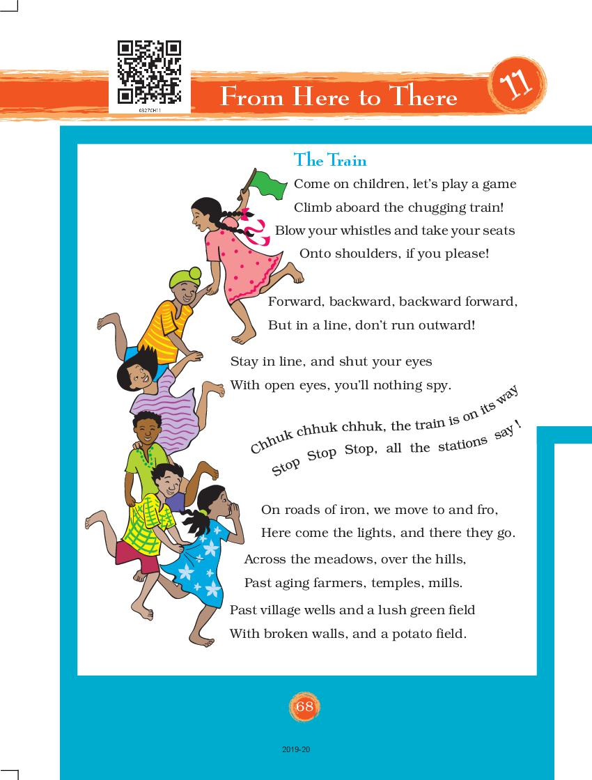 NCERT Book Class 3 EVS Chapter 11 From Here to There ...
