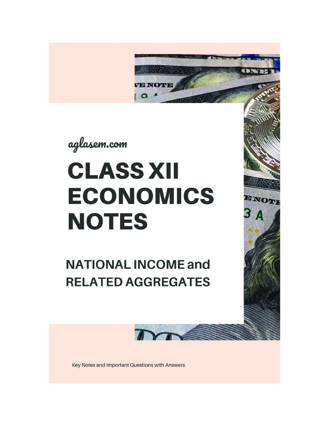 Class 12 Economics Notes for National Income and Related Aggregates