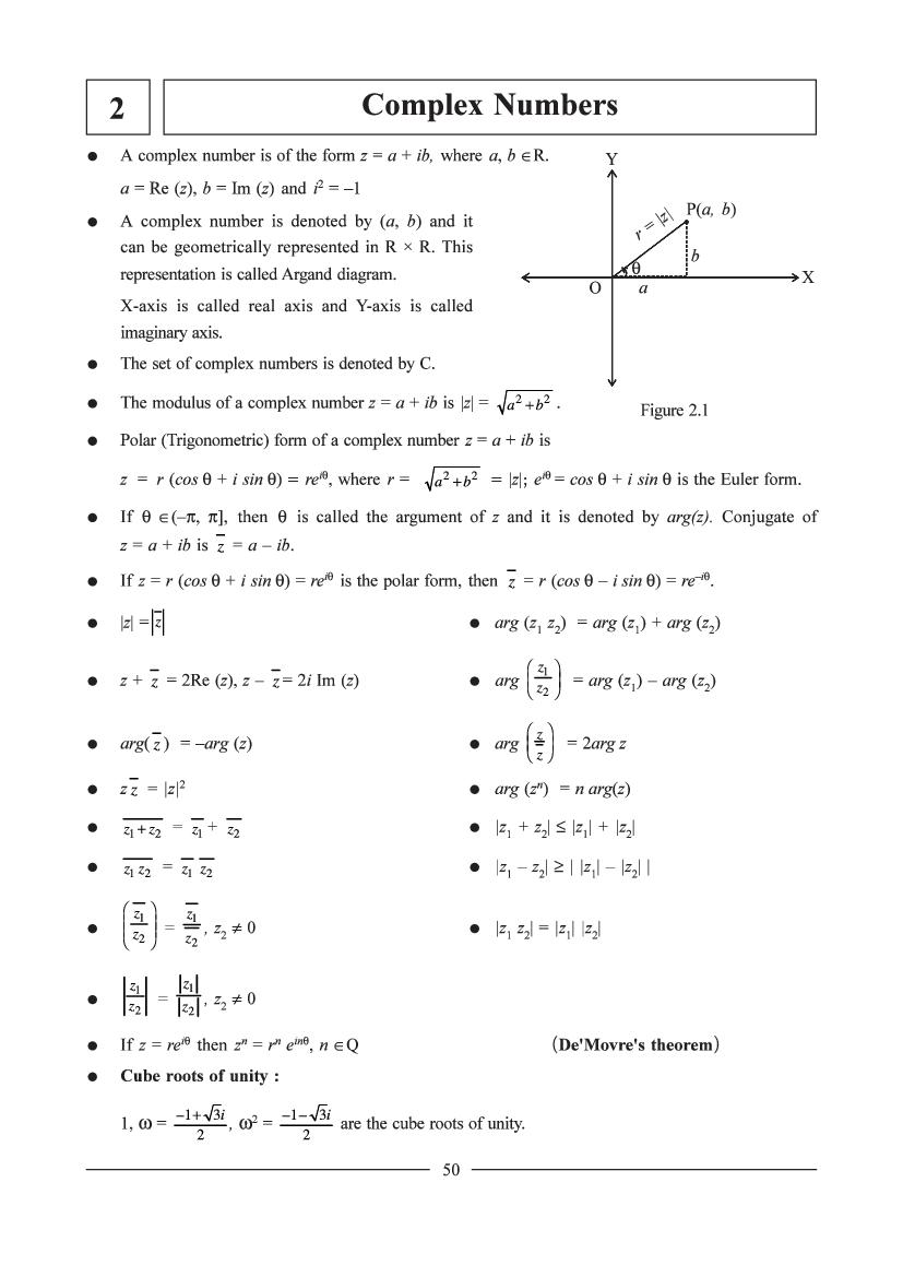 JEE Maths Question Bank for Complex Numbers