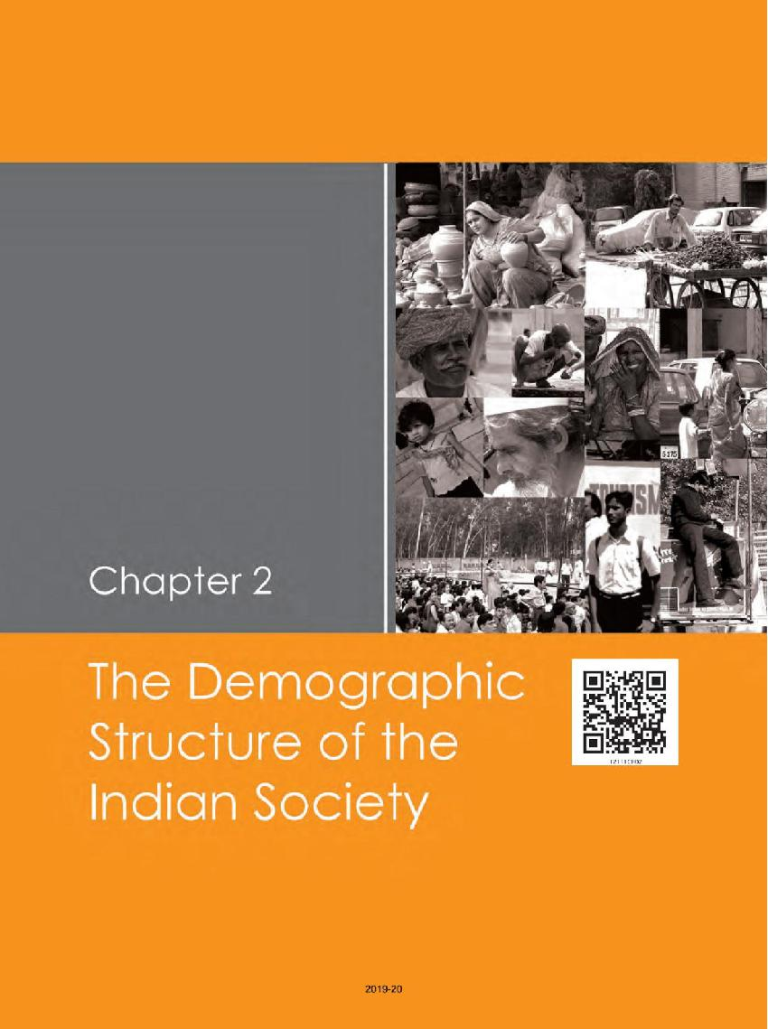 NCERT Book Class 12 Sociology Indian Society Chapter 2 The Demographic Structure of the Indian Society