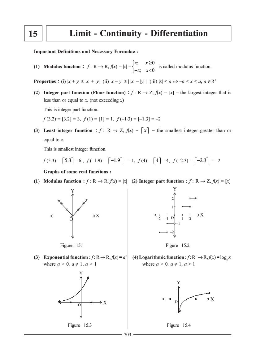 JEE Maths Question Bank for Limit & Continuity