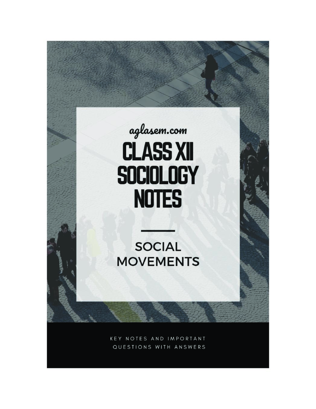 Class 12 Sociology Notes for Social Movements
