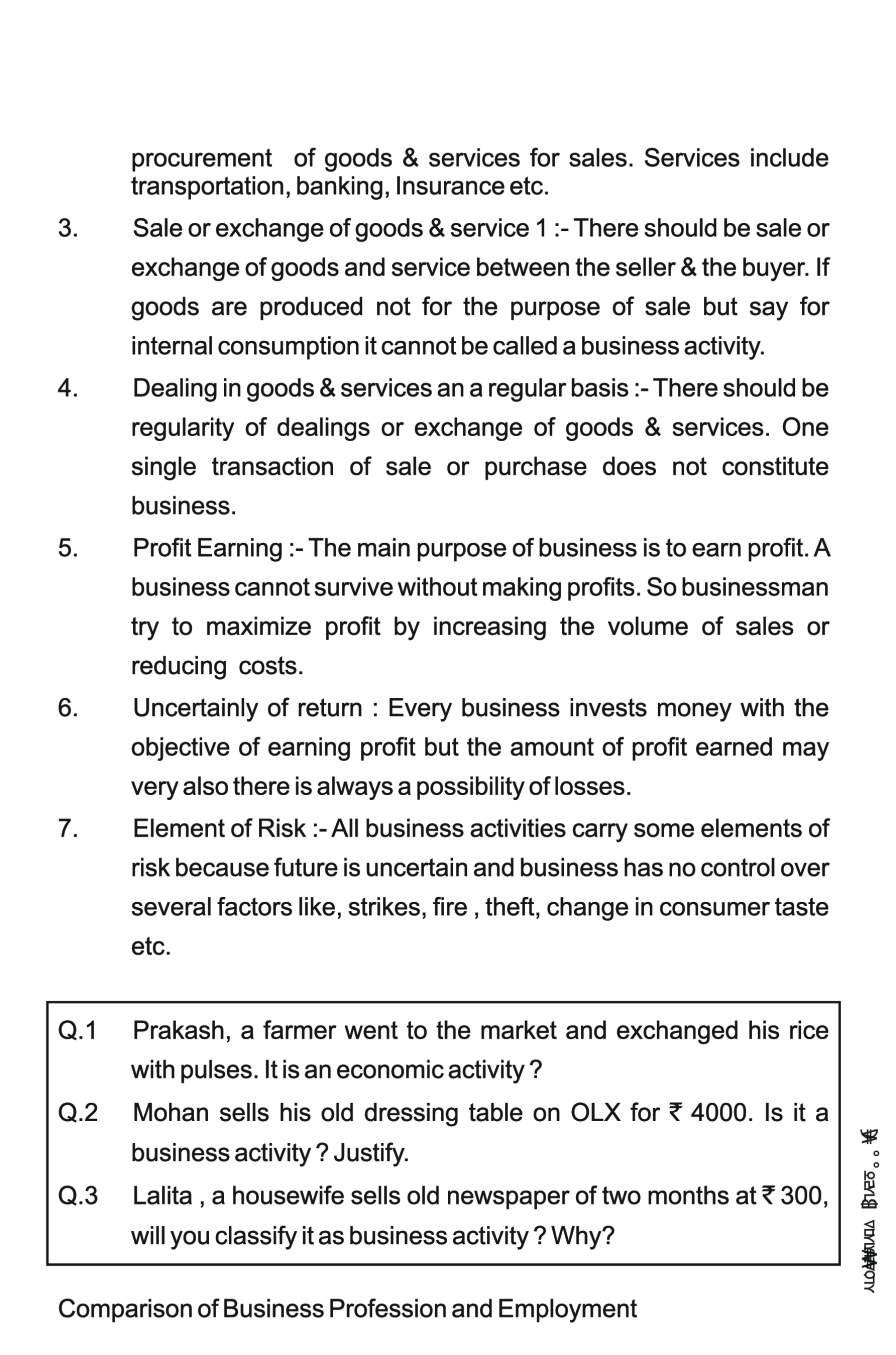 Class 11 Business Studies Notes for Evolution and