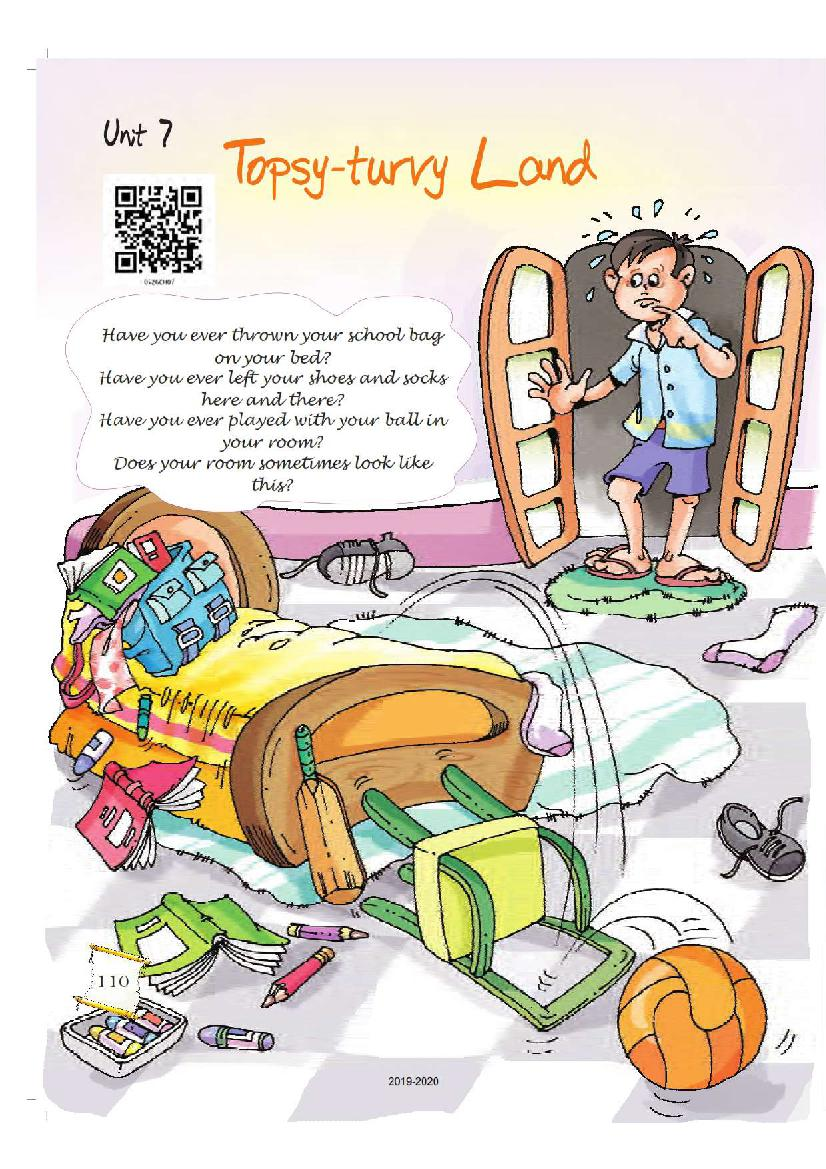 NCERT Book Class 5 English Chapter 7 Topsy-turvy Land