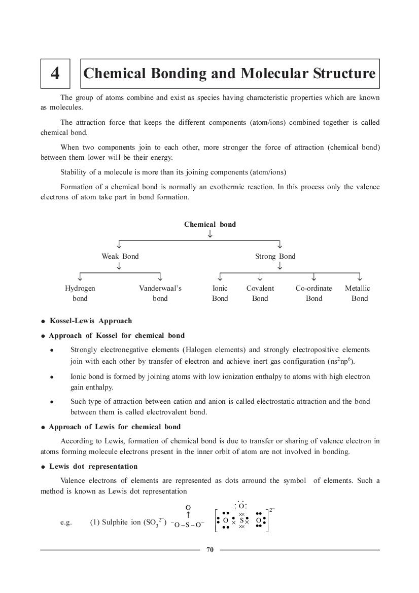 JEE NEET Chemistry Question Bank for Chemical Bonding And Molecular Structure